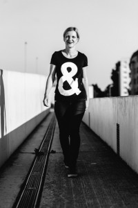 """Lydia Krüger, Bloggerin und Erfinderin des Quartetts """"Kampf der Abteilungen"""""""