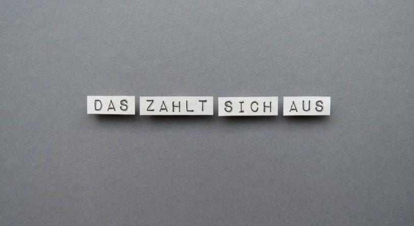 Gehaltsentwicklung. Bild: knallgrün/photocase.de